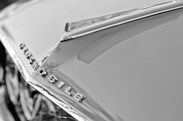 Photograph - 1962 Oldsmobile Hood Ornament And Emblem by Jill Reger