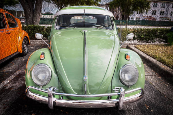 Photograph - 1962 Volkswagen Beetle Vw Bug  by Rich Franco