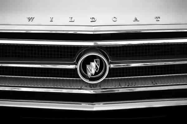 Photograph - 1963 Buick Wildcat Grille Emblem by Jill Reger