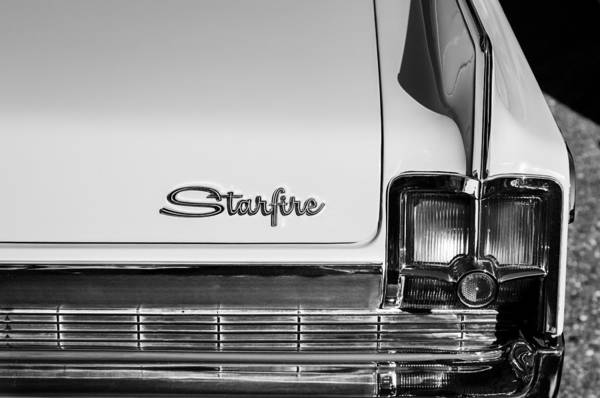 Photograph - 1963 Oldsmobile Starfire Taillight Emblem by Jill Reger