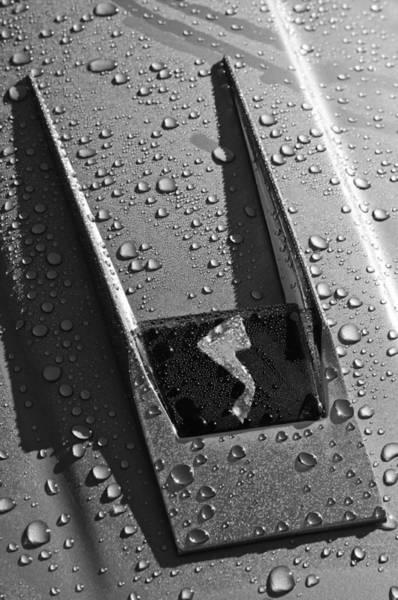 Photograph - 1963 Studebaker Avanti Hood Emblem by Jill Reger