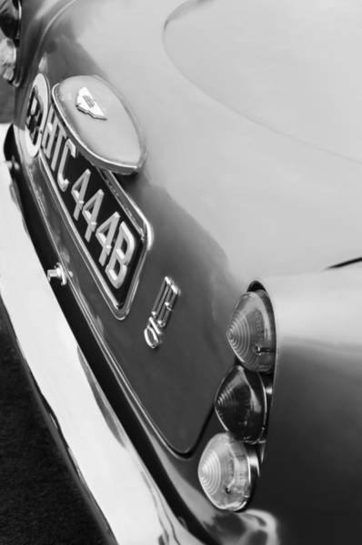 Photograph - 1964 Aston Martin Db5 Coupe' Taillight by Jill Reger
