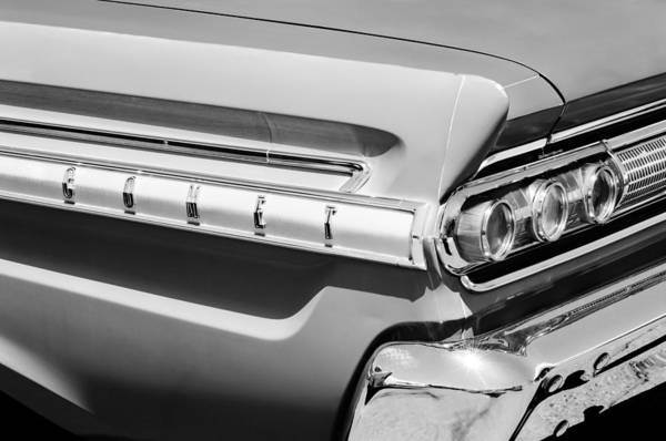 Photograph - 1964 Mercury Comet Taillight Emblem by Jill Reger