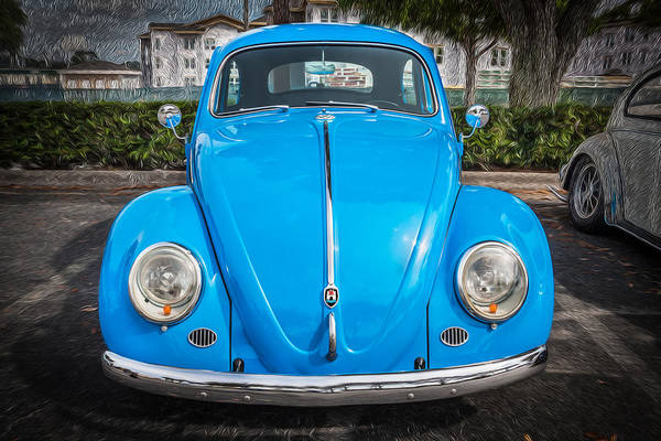Photograph - 1964 Volkswagen Beetle Vw Bug by Rich Franco