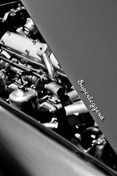 Photograph - 1965 Aston Martin Db5 Coupe Rhd Engine by Jill Reger