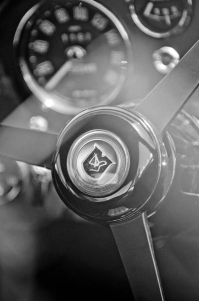 Photograph - 1965 Aston Martin Db5 Coupe Rhd Steering Wheel by Jill Reger