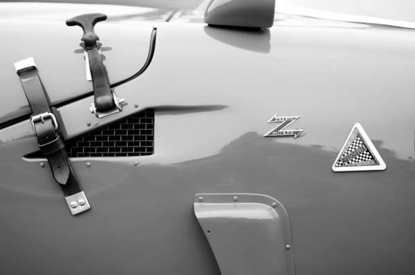 Photograph - 1967 Alfa Romeo Tz2 Zagato Coupe Side Emblems by Jill Reger