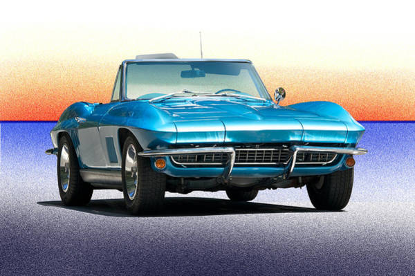 Wall Art - Photograph - 1967 Chevrolet Corvette Convertible by Dave Koontz