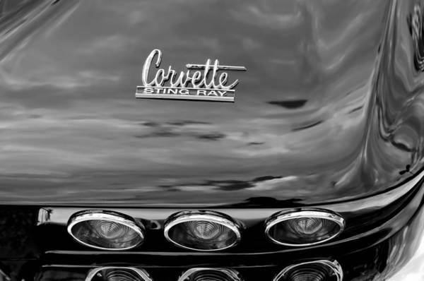 Photograph - 1967 Chevrolet Corvette Taillight by Jill Reger