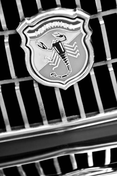 Photograph - 1967 Fiat Abarth 1000 Otr Emblem by Jill Reger