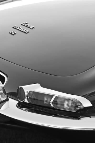Photograph - 1967 Jaguar E-type 4.2 Liter Series 1 Roadster Taillight by Jill Reger