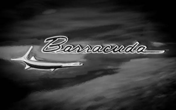 Plymouth Photograph - 1967 Plymouth Barracuda Emblem by Jill Reger