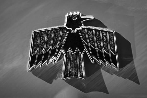 Firebird Photograph - 1967 Pontiac Firebird Emblem by Jill Reger