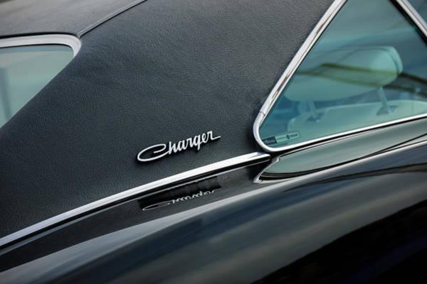 Photograph - 1969 Dodge Charger R-t Side Emblem by Jill Reger