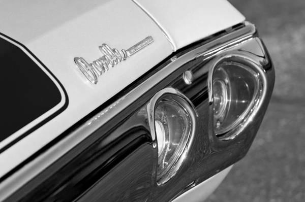 Malibu Photograph - 1971 Chevrolet Chevelle Malibu Ss Tail Light by Jill Reger