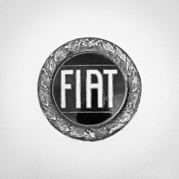Photograph - 1971 Fiat Dino 2.4 Emblem by Jill Reger