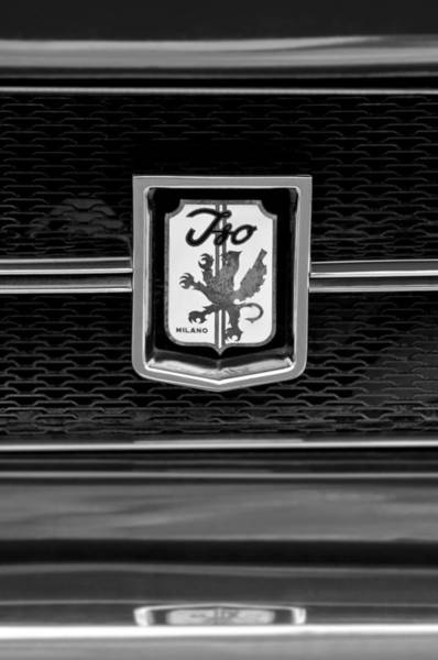 Photograph - 1971 Iso Grille Emblem by Jill Reger