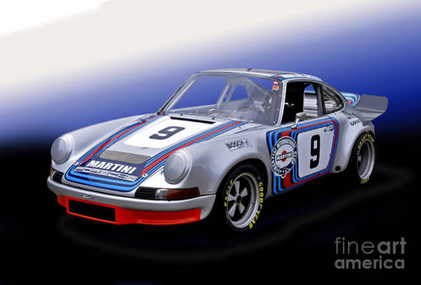 Autosport Wall Art - Photograph - 1973 Porsche 911 Rsr by Tad Gage