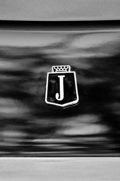 Interceptor Photograph - 1974 Jensen Interceptor Emblem by Jill Reger