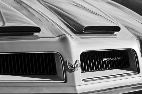Firebird Photograph - 1974 Pontiac Firebird Grille Emblem by Jill Reger