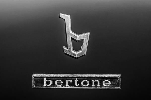 Photograph - 1976 Lamborghini Urraco P300 Bertone Emblem by Jill Reger