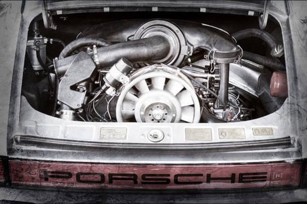 1976 Photograph - 1976 Porsche 911 Carrera 2.7 Taillight Emblem by Jill Reger