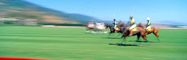 World Championship Photograph - 1998 World Polo Championship, Santa by Panoramic Images