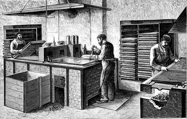 1889 Photograph - 19th Century Match Factory by Collection Abecasis