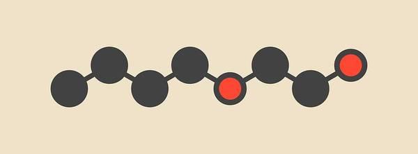 Wall Art - Photograph - 2-butoxyethanol Molecule by Molekuul/science Photo Library