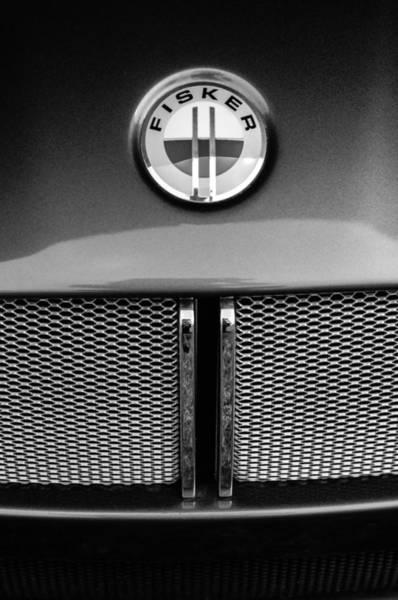 Tramonto Photograph - 2006 Mercedes-benz Fisker Tramonto Convertible Emblem by Jill Reger