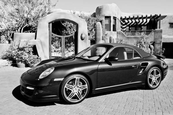 Cabriolet Photograph - 2008 Porsche Turbo Cabriolet  by Jill Reger