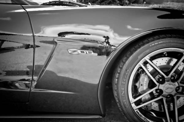 Mag Wheels Wall Art - Photograph - 2010 Chevrolet Corvette Z06 by Rich Franco
