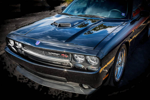 Street Racer Photograph - 2010 Dodge Challenger Rt Hemi    by Rich Franco