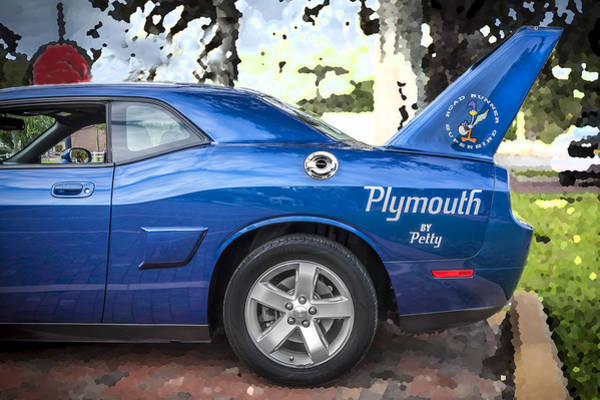 Plymouth Superbird Photograph - 2010 Plymouth Superbird  by Rich Franco