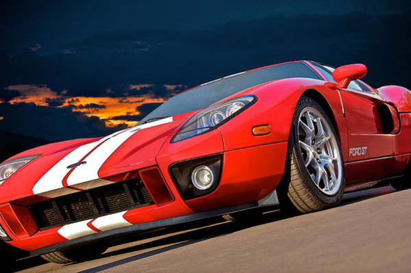 Wall Art - Photograph - 2011 Ford Gt I by Dave Koontz