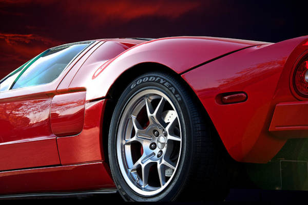 Wall Art - Photograph - 2011 Ford Gt II by Dave Koontz