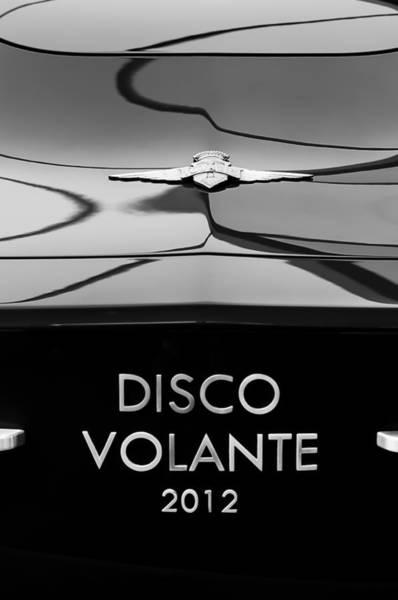 Photograph - 2012 Alfa Romeo Disco Volante Rear Emblem by Jill Reger
