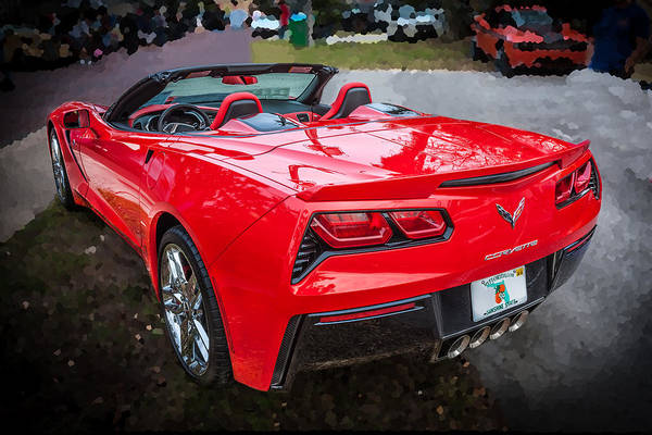 455 Photograph - 2014 Chevrolet Corvette C7  by Rich Franco