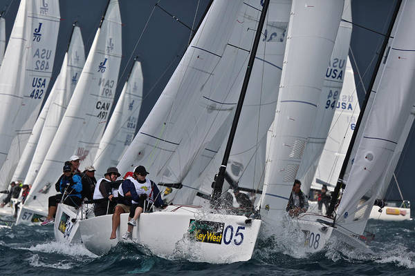 Photograph - 2014 Key West Race Week by Steven Lapkin
