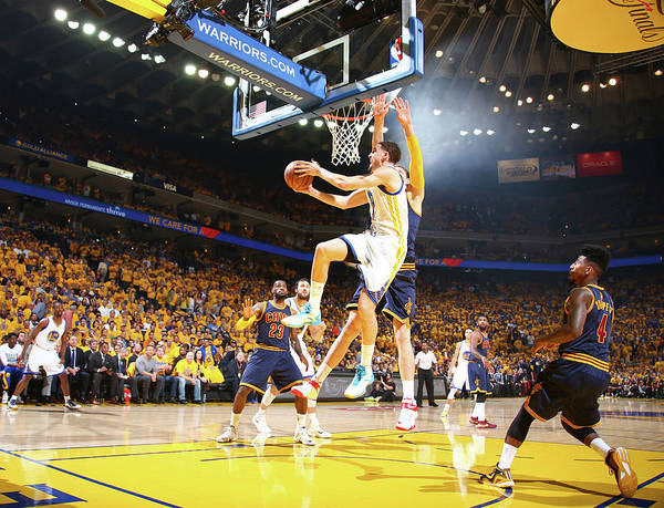 Oracle Wall Art - Photograph - 2015 Nba Finals - Game One by Nathaniel S. Butler