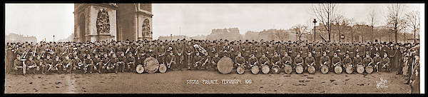 Wall Art - Photograph - 303rd Infantry Band, Paris, France by Fred Schutz Collection
