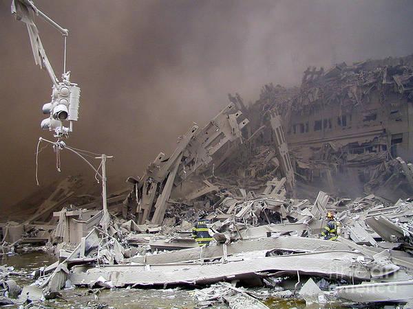 Photograph - 4-9-11-01-wtc Terrorist Attack by Steven Spak