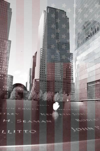 Mixed Media - 9-11 Memorial by Dan Sproul