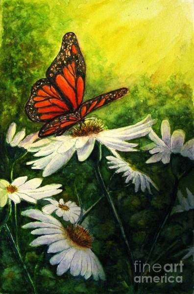 Butterfly Bush Wall Art - Painting - A Life-changing Encounter by Hazel Holland