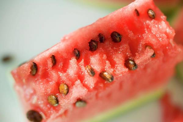 Wall Art - Photograph - A Piece Of Watermelon by Foodcollection