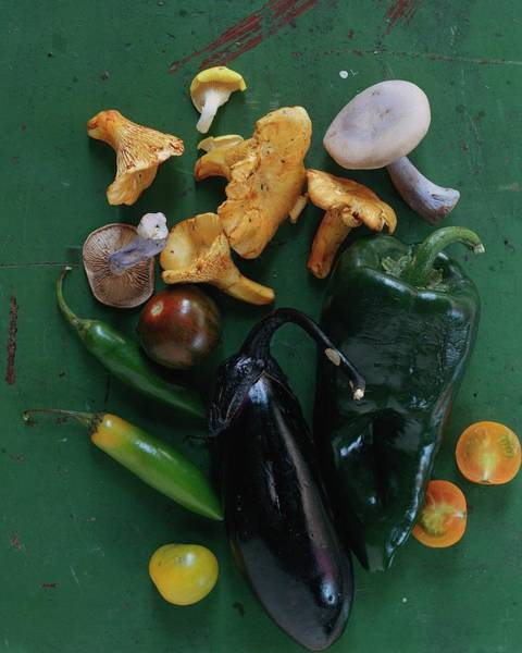 Fresh Photograph - A Pile Of Vegetables by Romulo Yanes