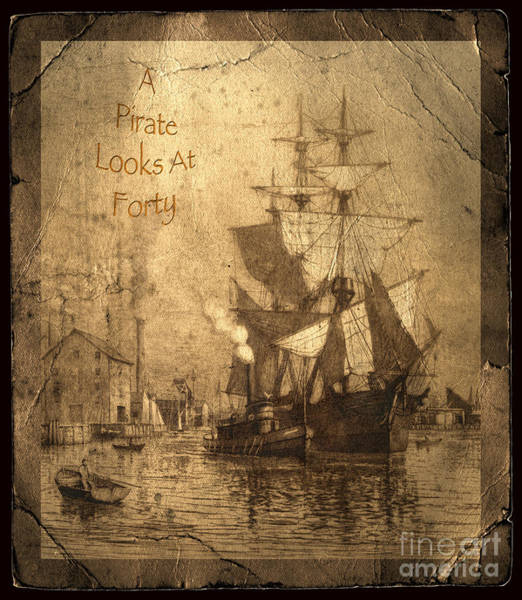 Port Orange Photograph - A Pirate Looks At Forty by John Stephens