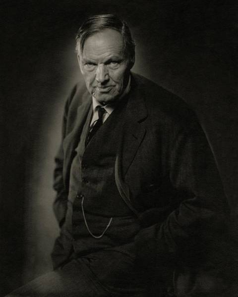Copy Photograph - A Portrait Of Clarence Darrow by Nickolas Muray