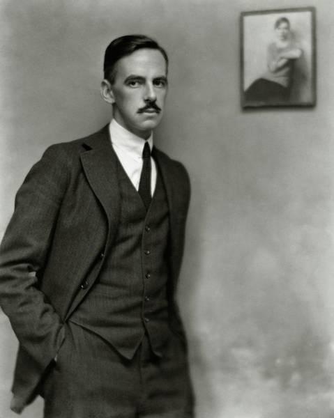 Eugene Photograph - A Portrait Of Eugene O'neill by Nickolas Muray