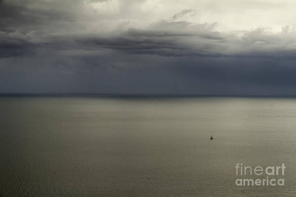 Photograph - A Storm Day On The Sea by Pier Giorgio Mariani